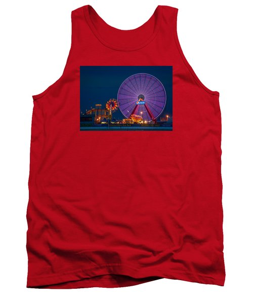 Giant Ferris Wheel Tank Top by Wayne King