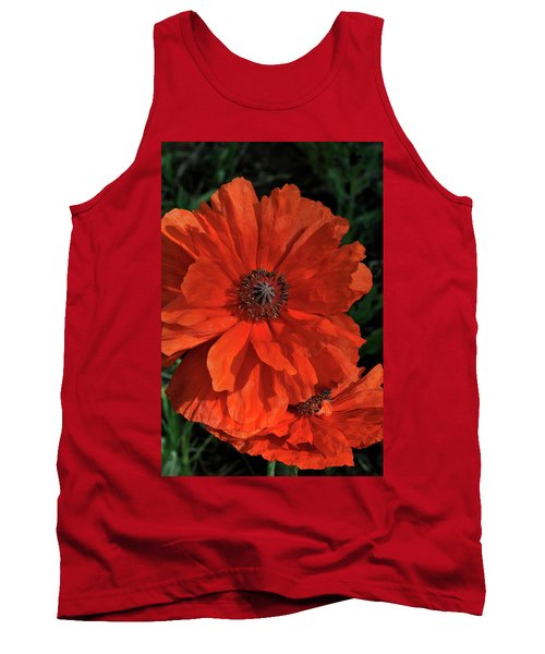 Giant Mountain Poppy Tank Top
