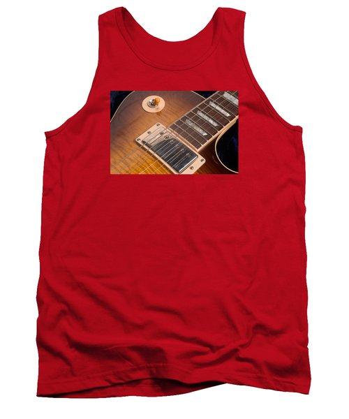 Gibson Les Paul Guitar By Gene Martin Tank Top