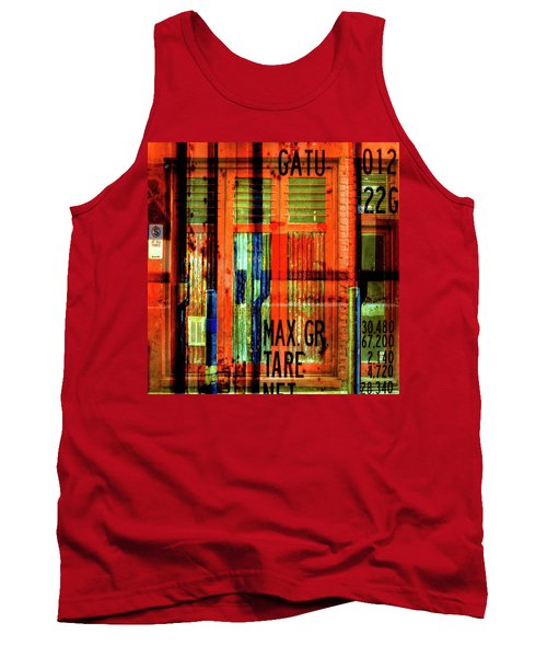Tank Top featuring the photograph Gimmie A Sign by Wayne Sherriff