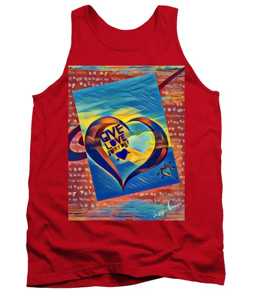 Give Love Tank Top
