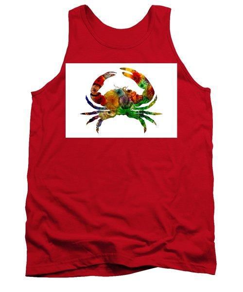 Glass Crab Tank Top