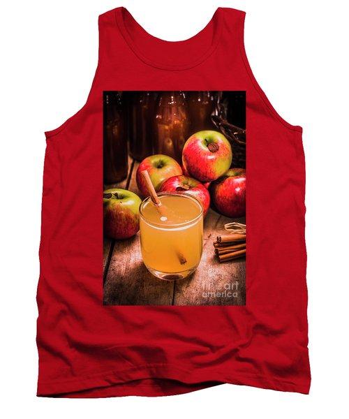 Glass Of Fresh Apple Cider Tank Top