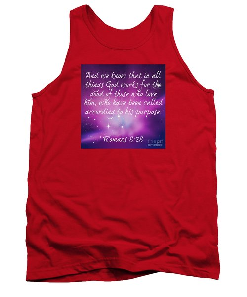 Tank Top featuring the digital art God Works by Leanne Seymour