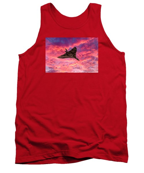 Going Out In A Blaze Of Glory Tank Top by Gary Eason