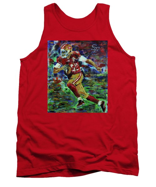 Gold Blooded 49ers Tank Top by Walter Fahmy