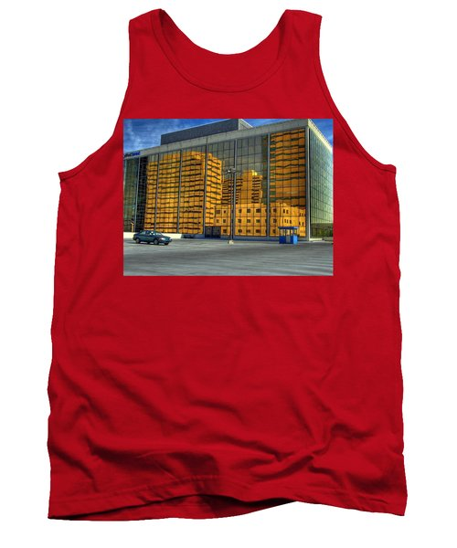 Gold In The Bank Tank Top by Farol Tomson