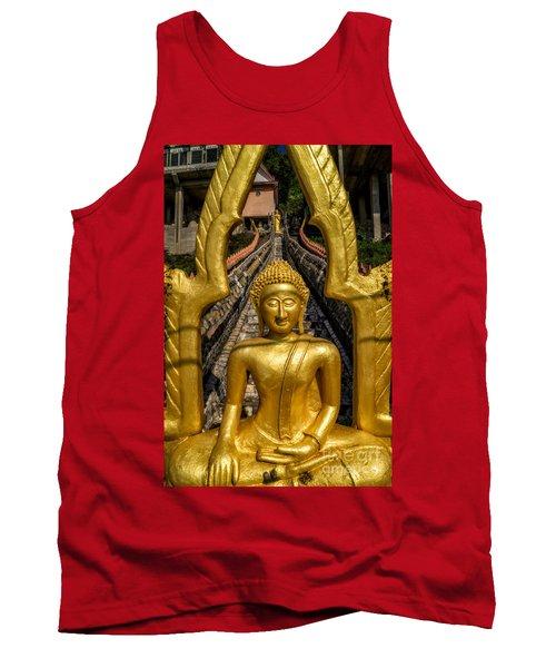 Golden Buddhas Tank Top
