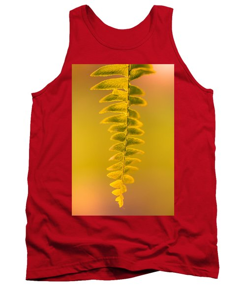Golden Fern Tank Top