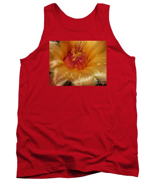 Golden Flower 1 Tank Top
