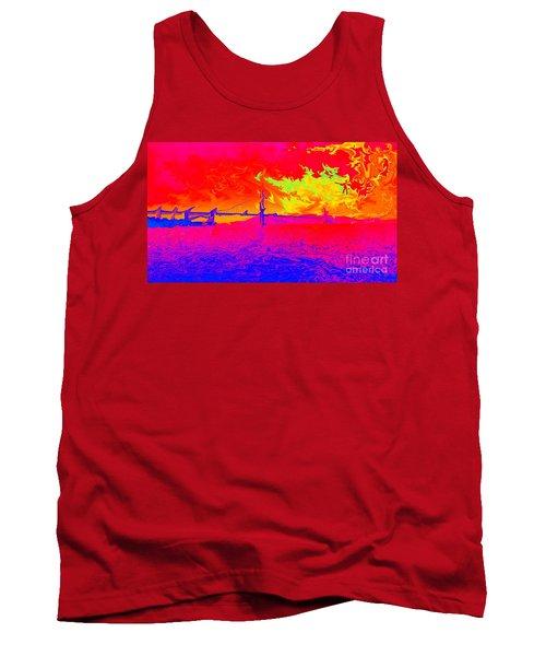 Golden Gate Mod Pop Tank Top