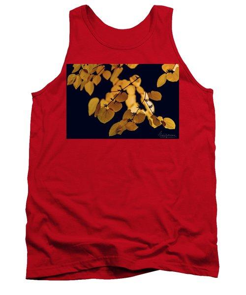 Golden Tank Top