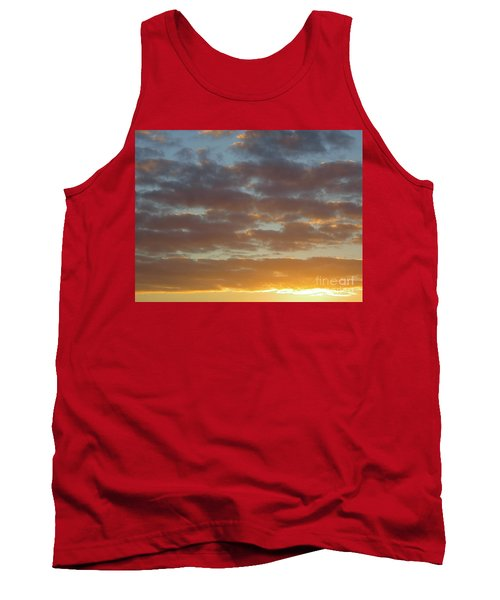 Golden Glow Florida Sunset. Tank Top