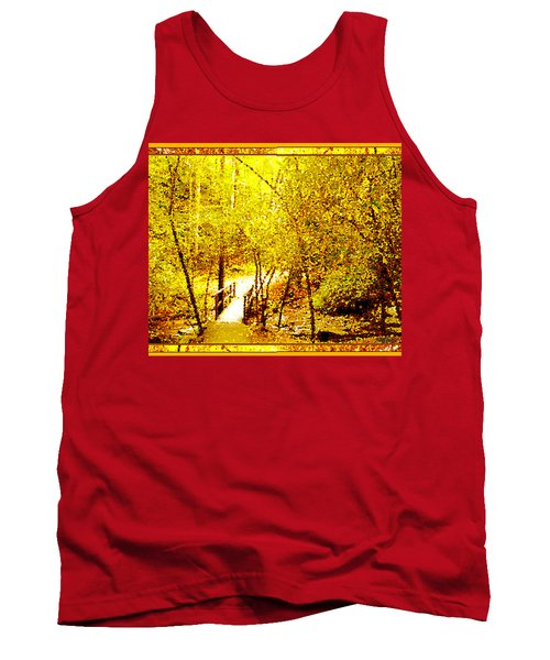 Golden Glow Tank Top