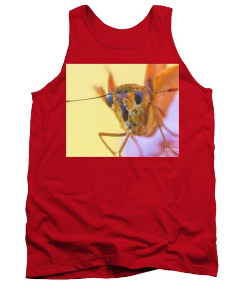 Golden Moth Tank Top