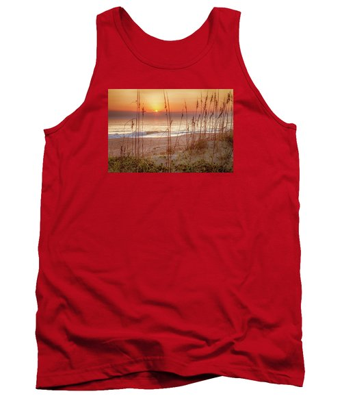 Golden Sunrise Tank Top by David Cote