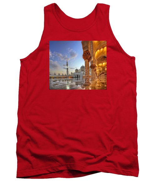 Tank Top featuring the photograph Golden Temple by John Swartz