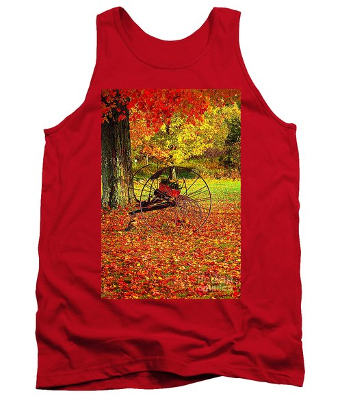 Gone With The Wind Tank Top by Diane E Berry