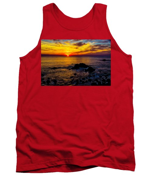 Gorgeous Coastal Sunset Tank Top