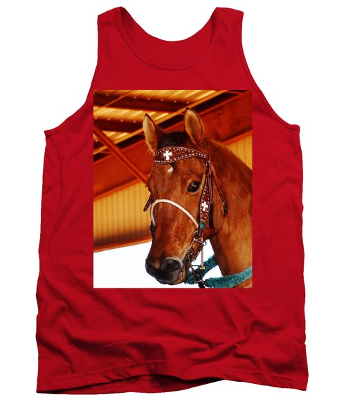 Gorgeous Horse And Bridle Tank Top