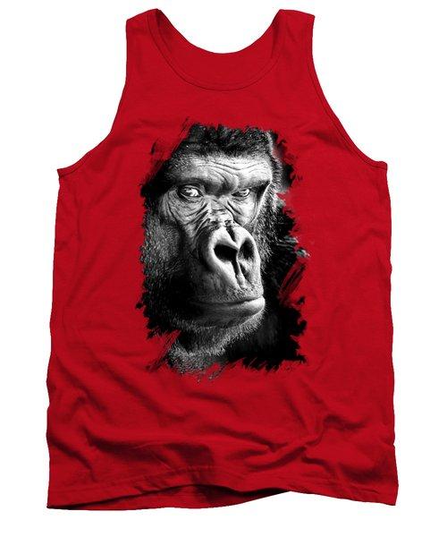Gorilla T-shirt Tank Top