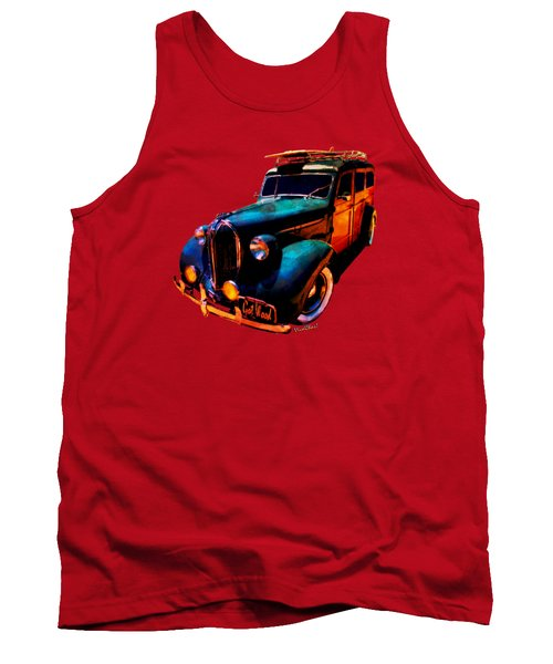 Got Wood Surf Woody Wonderland Watercolour Tank Top
