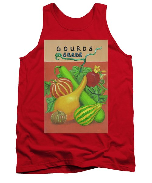 Gourd Orange Tank Top