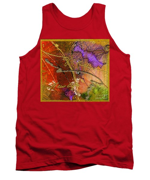 Tank Top featuring the mixed media Grace by Angela L Walker