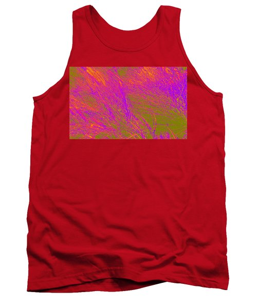 Grass Abstract 4 Tank Top