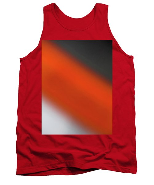 Tank Top featuring the photograph Gray Orange Grey by CML Brown