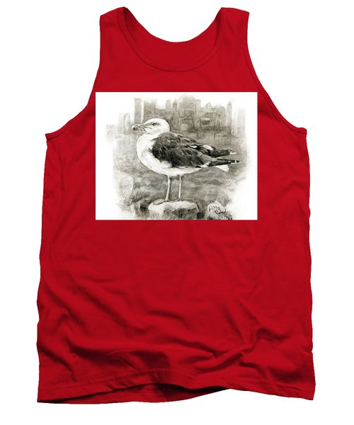 Great Black-backed Gull Tank Top