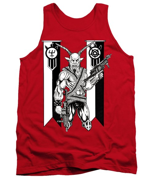 Great Goat War Tank Top by Alaric Barca