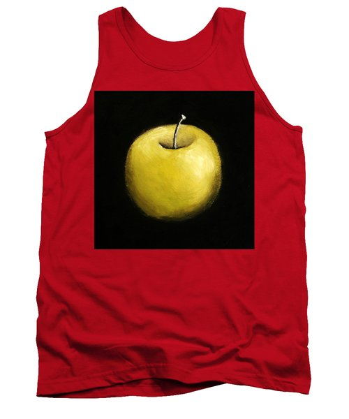 Green Apple Still Life 2.0 Tank Top by Michelle Calkins