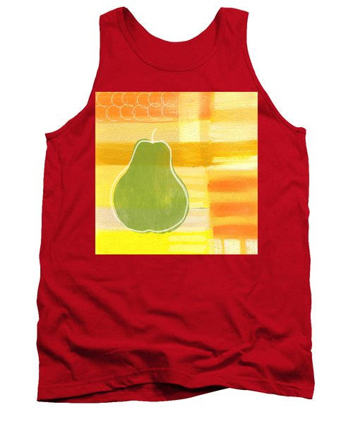 Green Pear- Art By Linda Woods Tank Top