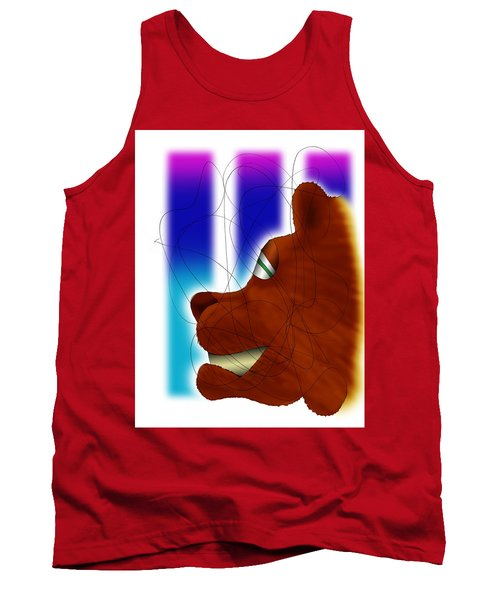 Grin And Bear It Tank Top