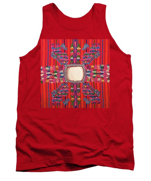 Guatemalan Arts And Crafts Tank Top