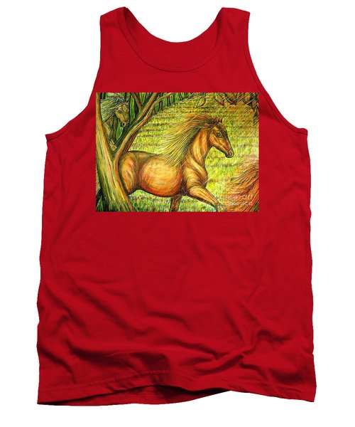 Guidance-out Of The Woods Tank Top by Kim Jones