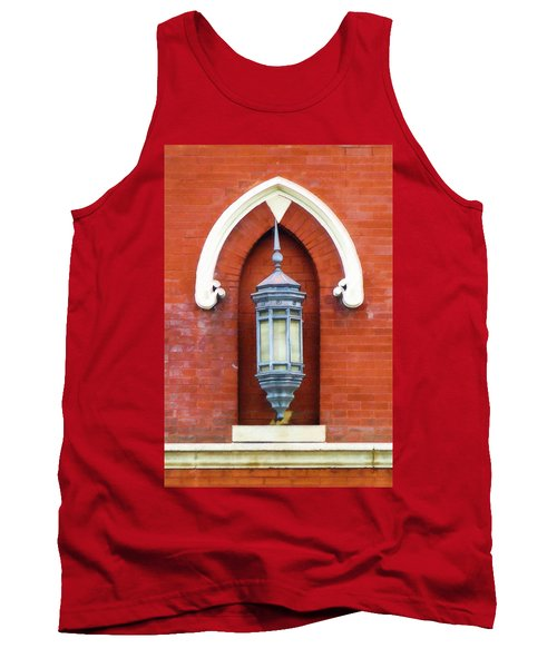 Tank Top featuring the painting Guiding Light At The Mother Church by Sandy MacGowan