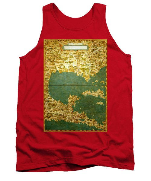 Gulf Of Mexico, States Of Central America, Cuba And Southern United States Tank Top