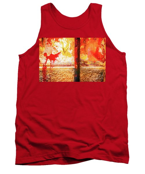 Tank Top featuring the photograph Gutter And Decayed Wall by Silvia Ganora