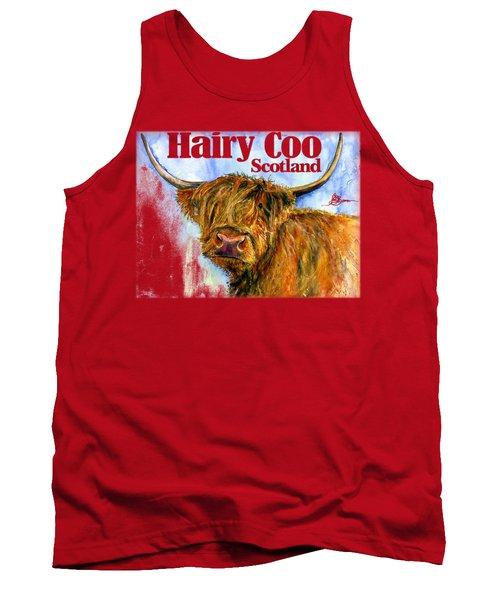Hairy Coo Shirt Tank Top