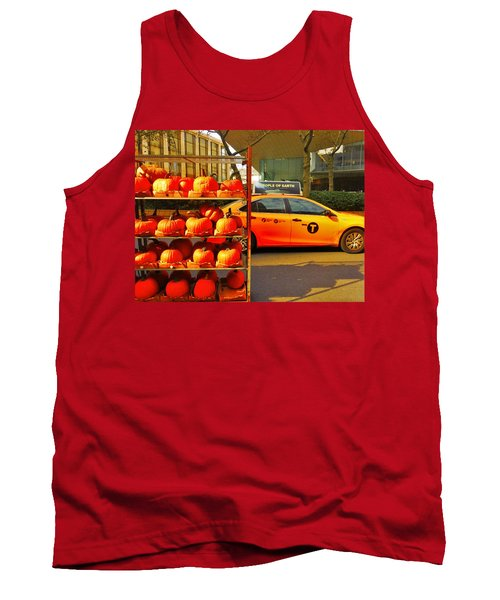 Halloween In New York  Tank Top by Funkpix Photo Hunter