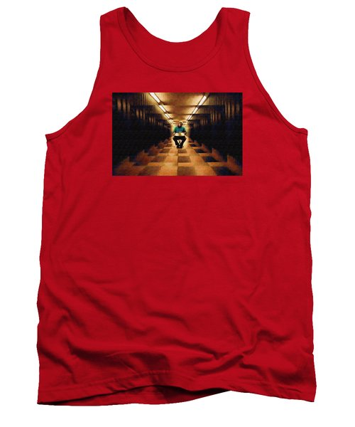 Tank Top featuring the photograph Hanging In The Balance by Mario Carini