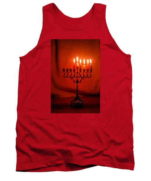 Hanukkah On Fifth Day Tank Top