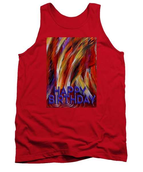 Happy Birthday  Tank Top