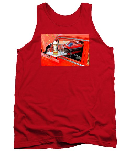 Happy Days Tank Top by Louis Ferreira