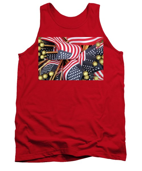Happy Fourth Of July 2017 Tank Top