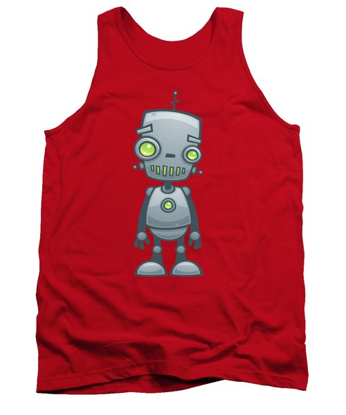Happy Robot Tank Top