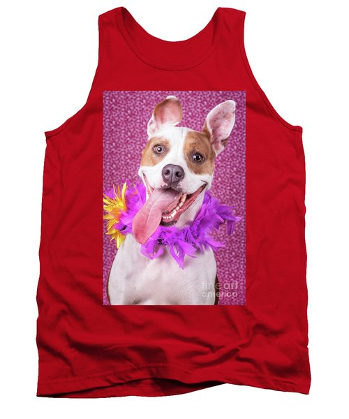 Hapy Dog Tank Top by Stephanie Hayes