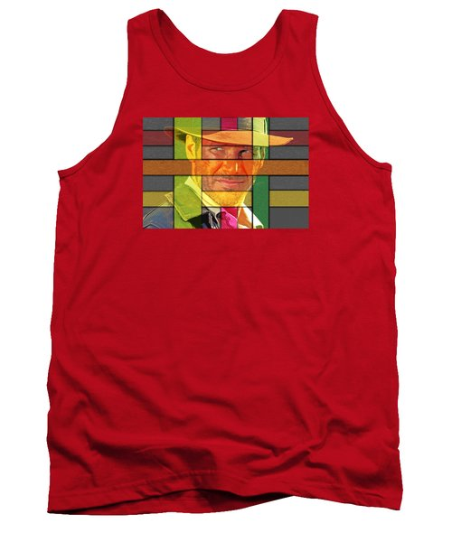 Harrison Ford Tank Top by Manjot Singh Sachdeva